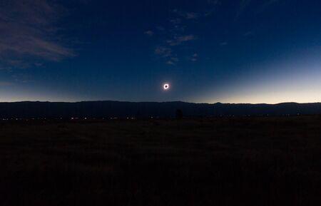 Totale Sonnenfinsternis von Cordoba Argentinien aus gesehen