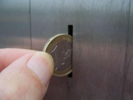 automat: the slot Stock Photo