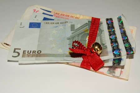 batch of euro: the batch of money