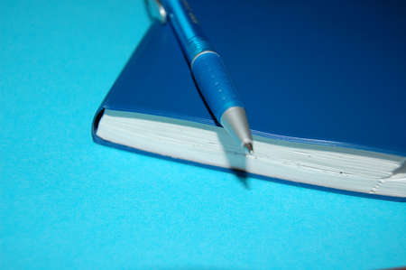 note pad: the note pad and pen