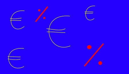 the euro and the percent