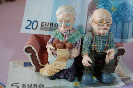 the bank note and the pension