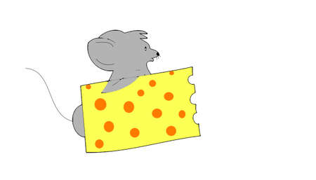 cheese and the mouse