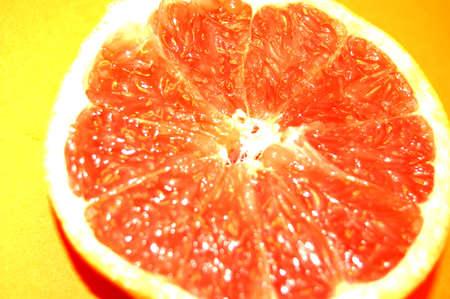 orange on yellow background