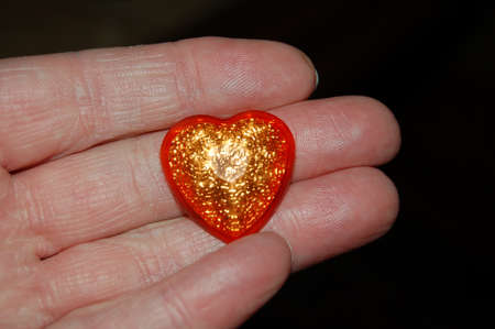 the heart in the hand