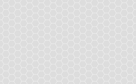 Vector Geometric background with Hexagons. Grey geometric background. Reklamní fotografie - 83252805