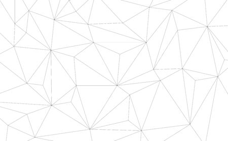 Vector Geometric background with Triangles. Black and white geometric background.