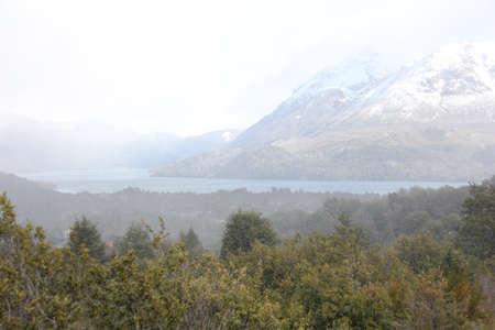 patagonian: Patagonian landscape Stock Photo