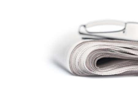 broadsheet newspaper: Selective focus on papers