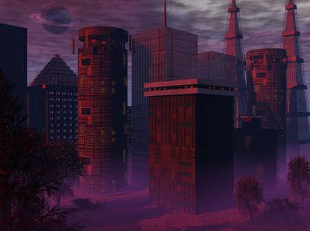 abstracto: Future City 3