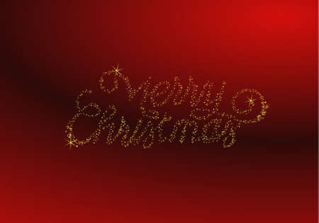 merry christmas background Stock Vector - 11661929