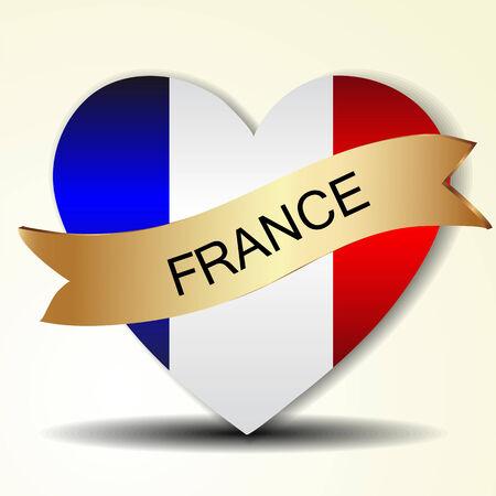 accidentado: Bandera de Francia
