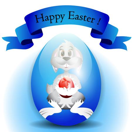 poult: Huevo de Pascua coloridos pintados Vectores