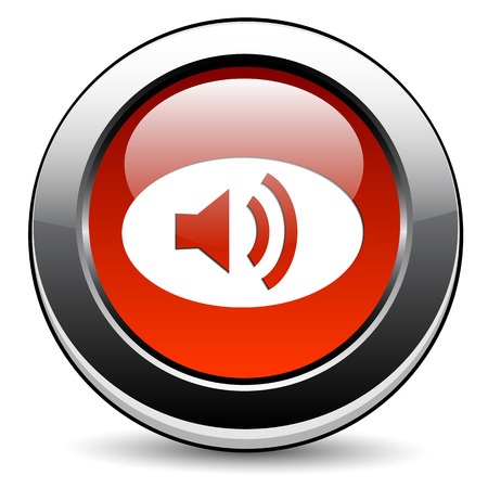 echo: Speaker icon Illustration