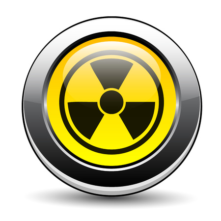 Nuclear symbol Stock Vector - 27293126
