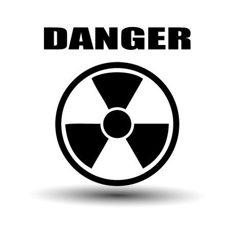 Label radiation hazard Stock Vector - 27293128