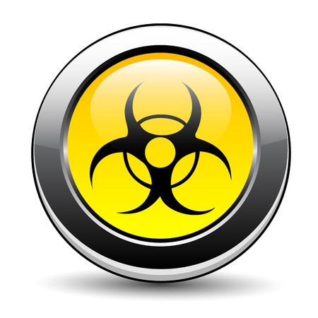 biological waste: Se�al de peligro biol�gico