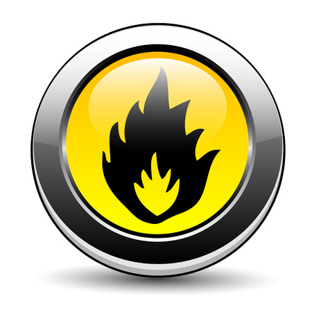 Flammable sign Stock Vector - 27293155
