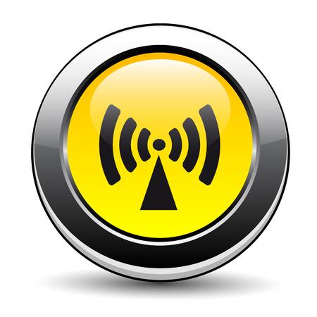 ionizing radiation: Non Ionising Radiation Sign
