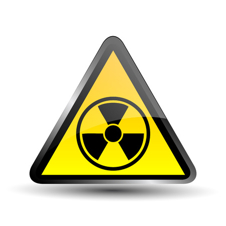 radioisotope: Nuclear symbol Illustration