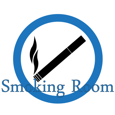 Smoking area Vector