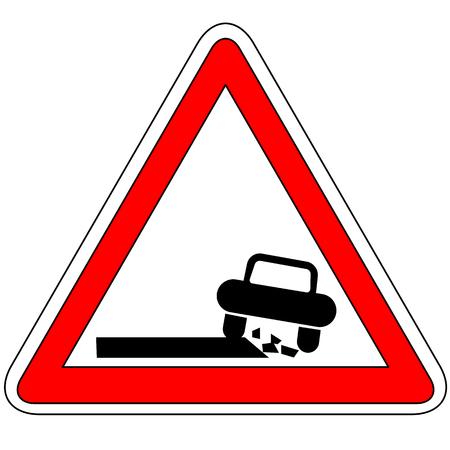 dangerous: Dangerous roadside