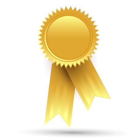 gold ribbon: Gold medal