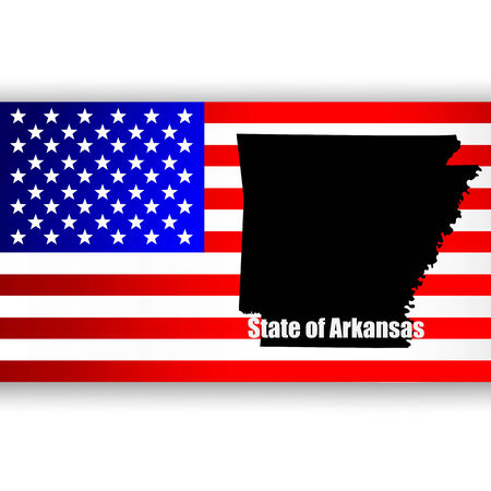 u  s: Map of the U S  state of Arkansas