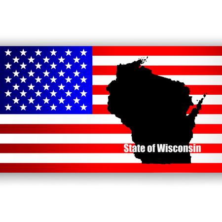 u  s: Map of the U S  state of Wisconsin