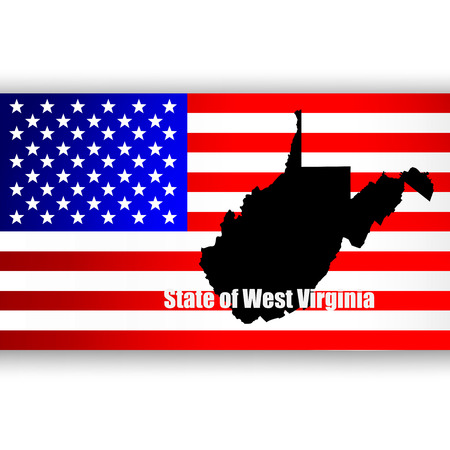 u  s: Map of the U S  state of West Virginia