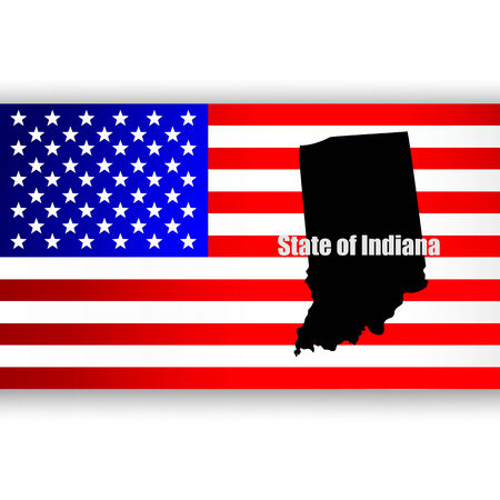 u  s: Map of the U S  state of Indiana
