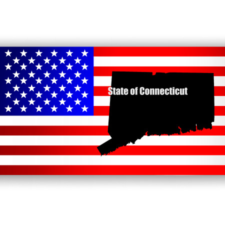 u  s: Map of the U S  state of Connecticut