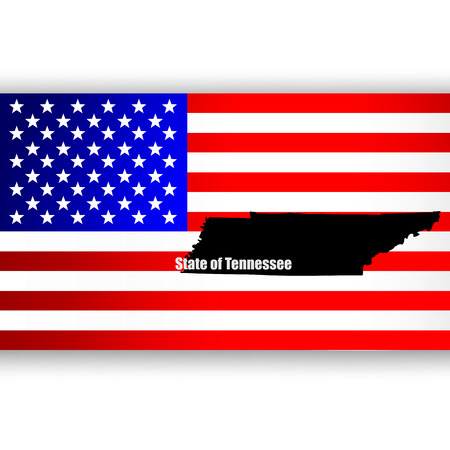 u  s: Map of the U S  state of Tennessee