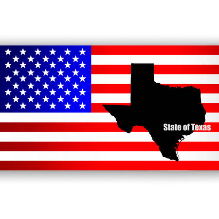 u  s: Map of the U S  state of Texas
