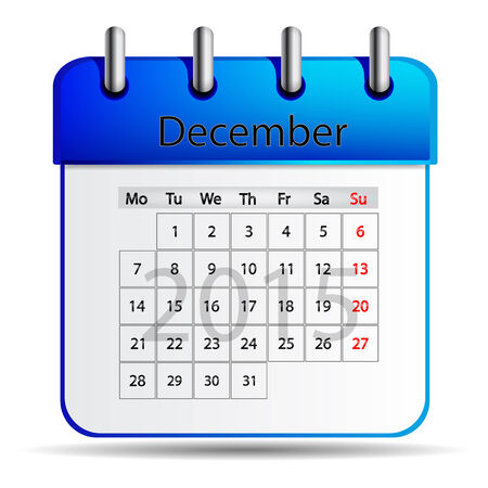 in december: Calendar December