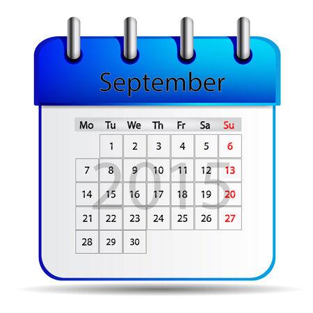 calendario septiembre: Calendario septiembre