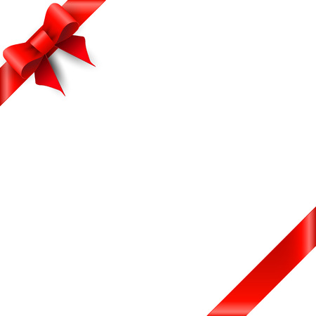 red bow: Gift card