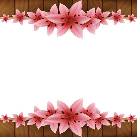 lilium: Floral Frame