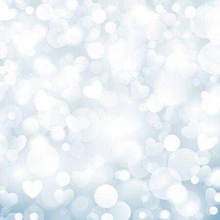 winter blues: Shiny blue background