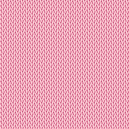 knitted: Pink knitted background Illustration