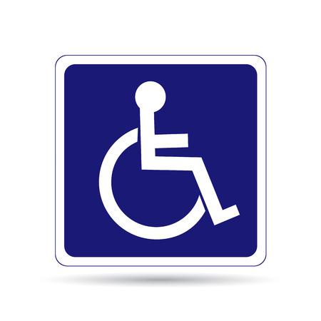 Handicapped person segno