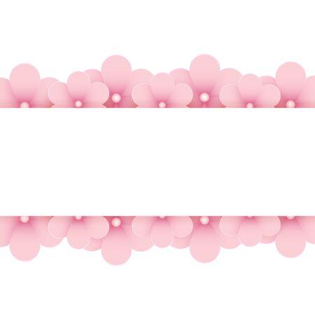 lugar: Fondo floral rosado con el lugar de texto