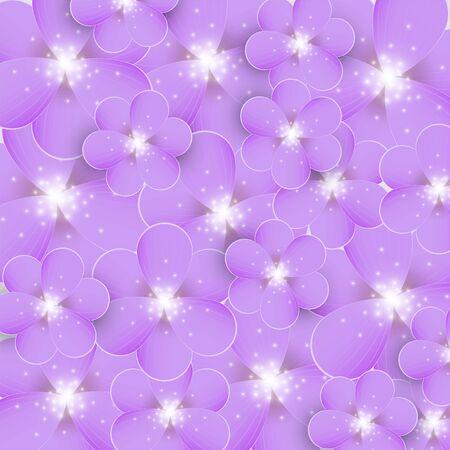 purple flowers: Background with purple flowers