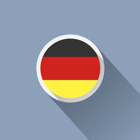 drapeau allemagne: Allemagne Flag Button Ic�ne