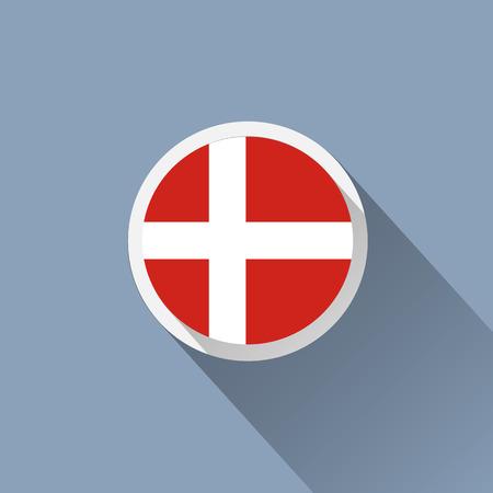 denmark flag: Denmark Flag Icon
