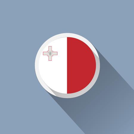 malta: Vlag van Malta icoon