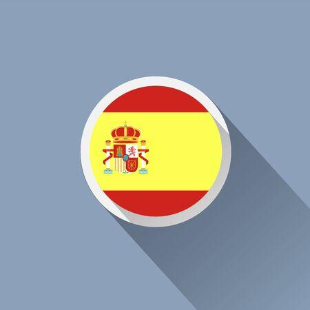 bandiera spagnola: Icona bandiera spagnola
