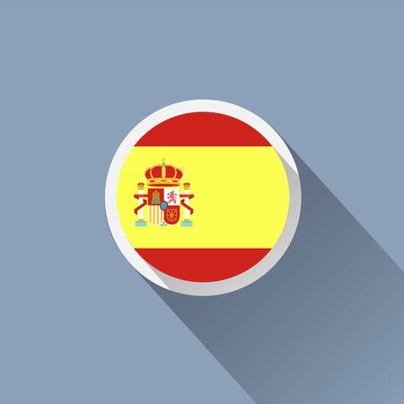 spanish flag: Spanish flag icon
