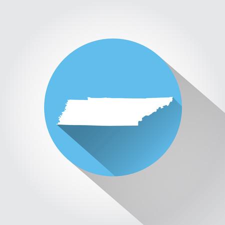 tennesse: Estado de Tennessee  Vectores