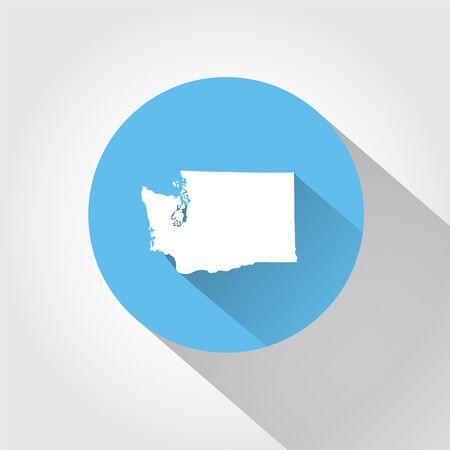 united state: State of Washington Illustration
